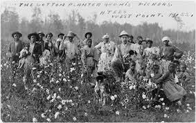 The big landowners lived in luxury on the backs of their slaves.  It took a Civil War to bring full slavery to an end.  But it took well over another hundred years to bring about a modicum of equality.