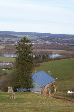 Panoramic view of Cheveuges