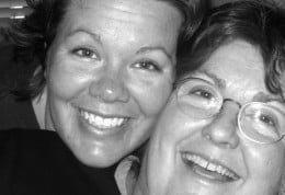 Me and my Mom - Two clumsy peas in a pod!