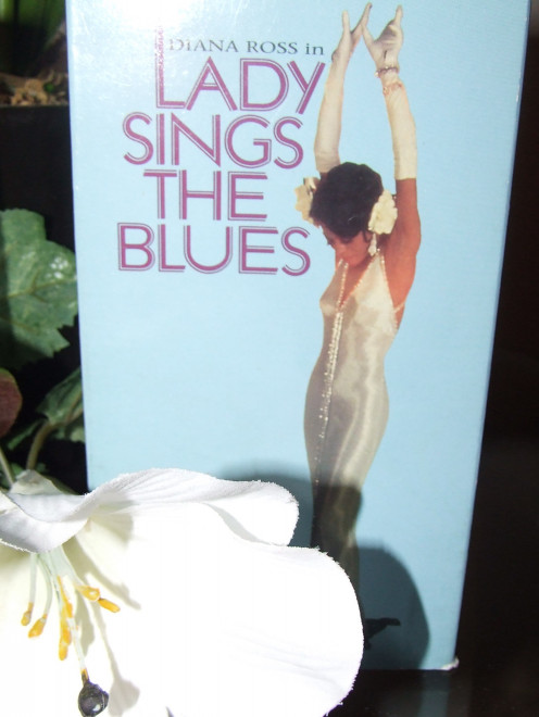 Cover of the classic VHS Lady Sings The Blues, Leading Lady Ms. Diana Ross.