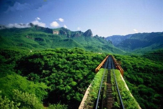 """National Geographic Traveler magazine describes the tour as: """"a train ride on the Chihuahua al Pacifico and a rugged five-day hike through the Sierra Madre. Your reward is joining several traditional communities, some of whom live in caves and under"""