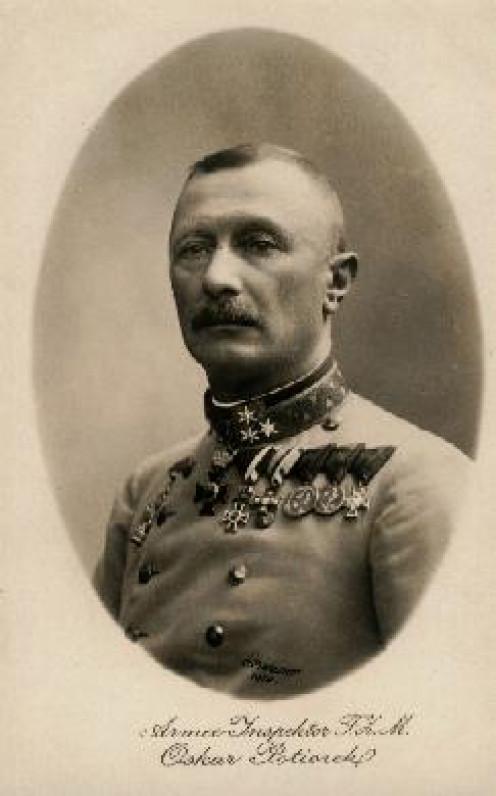 Oskar Potiorek, Hungarian governor of Bosnia and Herzegovina between 1911 and 1914.