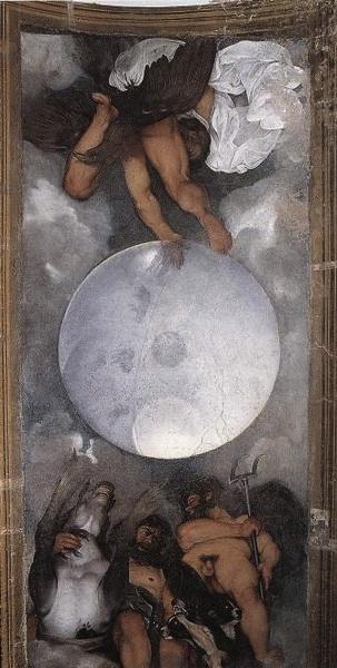 Jupiter, Neptune and Pluto (ca.1597) by Amerighi da Caravaggio