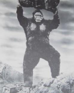 The dreaded man in a monkey suit!