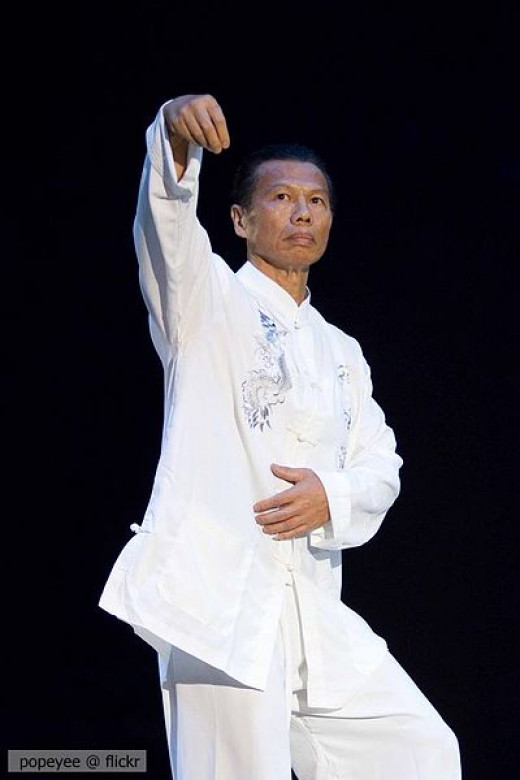 Big muscles are bad for martial artists?  Tell that to Bolo Yeung.
