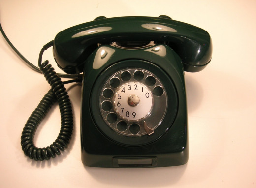 The old land-line