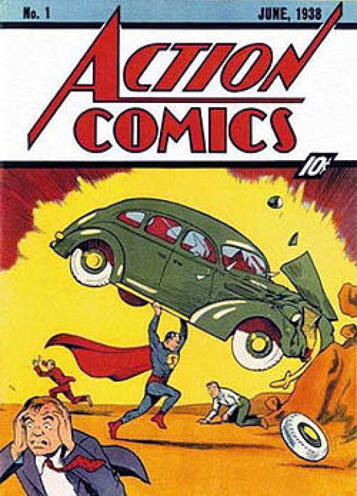 Action Comics #1 - First appearance of Superman