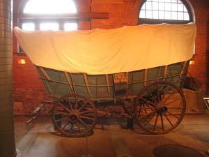 Conestoga wagon, circa 1784, Pennsylvania