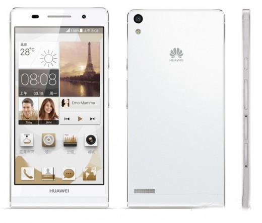 Huawei Ascend P6 (white)
