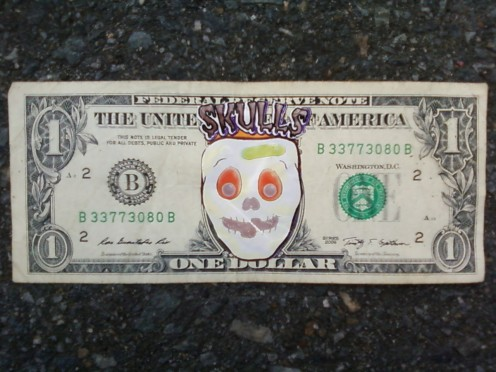 Happy Skull Cash