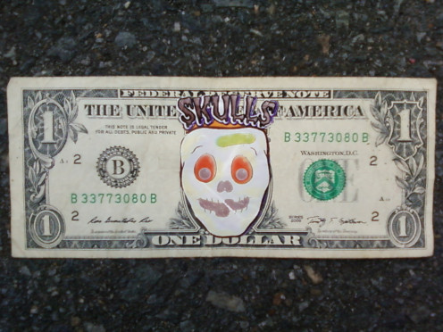 Friendly Skeleton Bucks