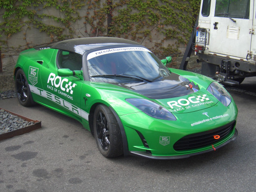 "Tesla Roadster 2.5 Sport ""Race Of Champions"" Edition"