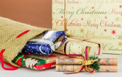 Fill a Christmas Stocking with homemade gifts for some lucky person.