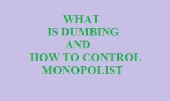 What is Dumping and How to Regulate Monopoly?
