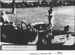 A frame from the Zapruder Film used by the Warren Commission.