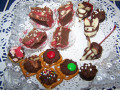 Homemade Candies For The Holidays. Cute Little Mice Easy To Make.
