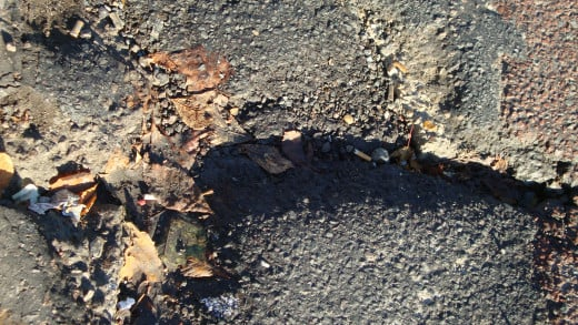 The status of a local road