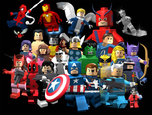 Marvel LEGO Super Hero Minifigures