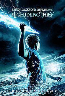 Percy Jackson:The Lightening Thief Movie Poster