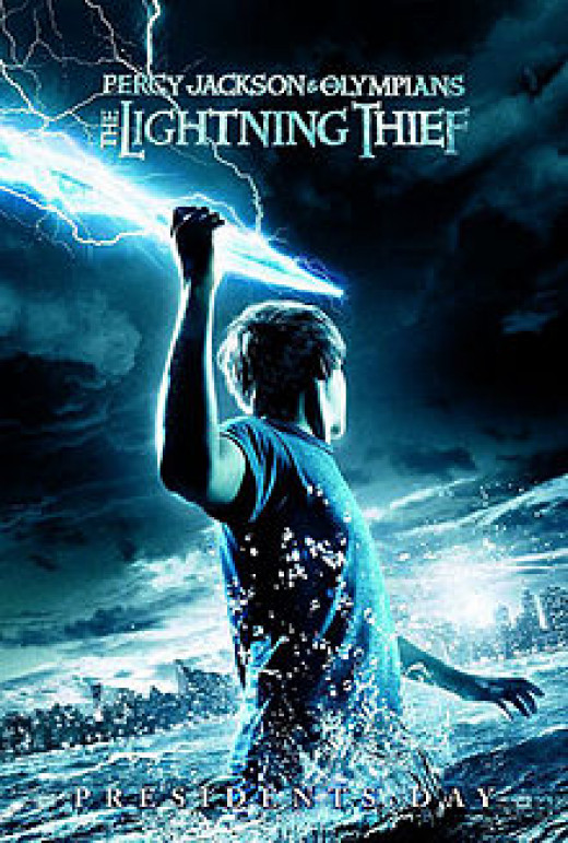 Percy Jackson:The Lightening Thief Movie Poster