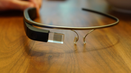 This is the Google Glass Explorer Edition.