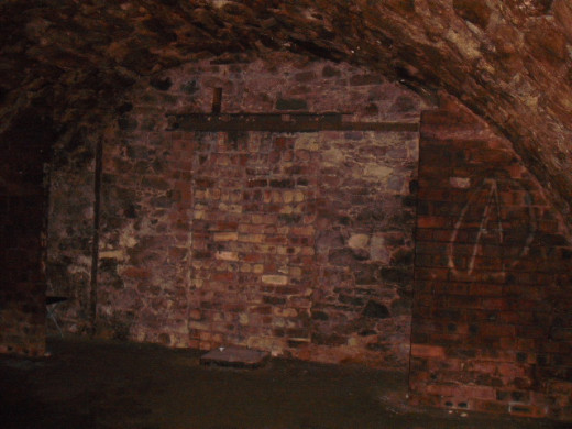 The Vaults have been bricked up.