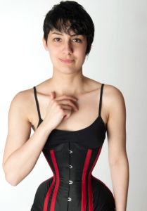 The Corset Has Certainly Become Addictive For Michele Koebke