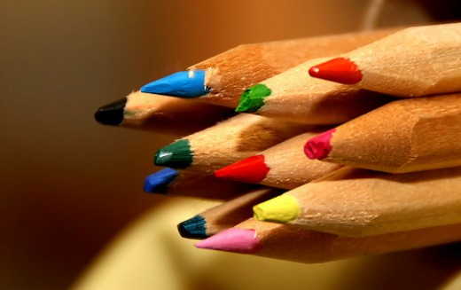 coloring is a great way to relief stress