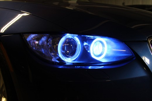Halo Headlight Examples