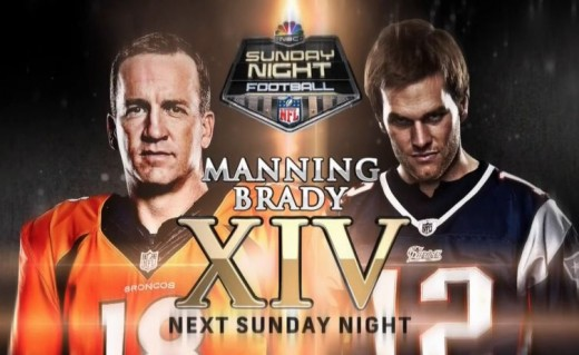 Brady and Manning did not disappoint on Sunday Night Football.