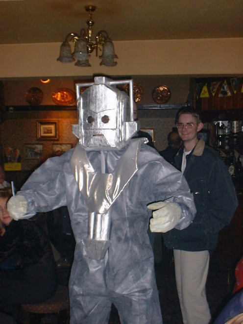 SMS & Eira 'Heaven and Hell' Party Cyberman from 2005
