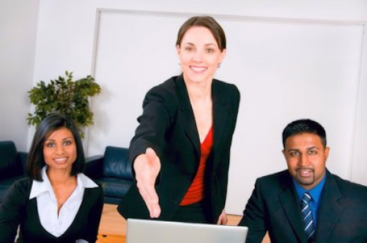 The two words every applicant wants to hear: You're Hired!