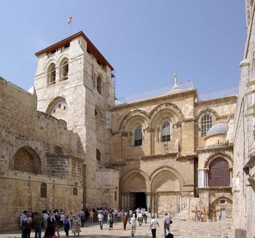 Jerusalem, Church of the Holy Sepulchre