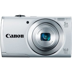 Canon PowerShot A2500 16MP Digital Camera with 5x Optical Zoom with 3-Inch LCD