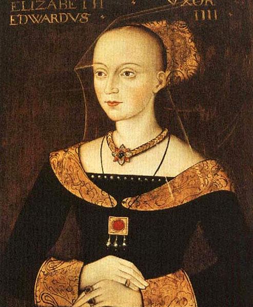 Elizabeth of York's mother, Elizabeth Woodville