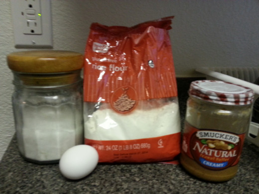 These are the 4 ingredients I used.