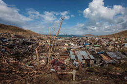 Typhoon Hiyan's wrath destroys cities and villages. Climate Change will lead to more storms and destructive weather patterns.