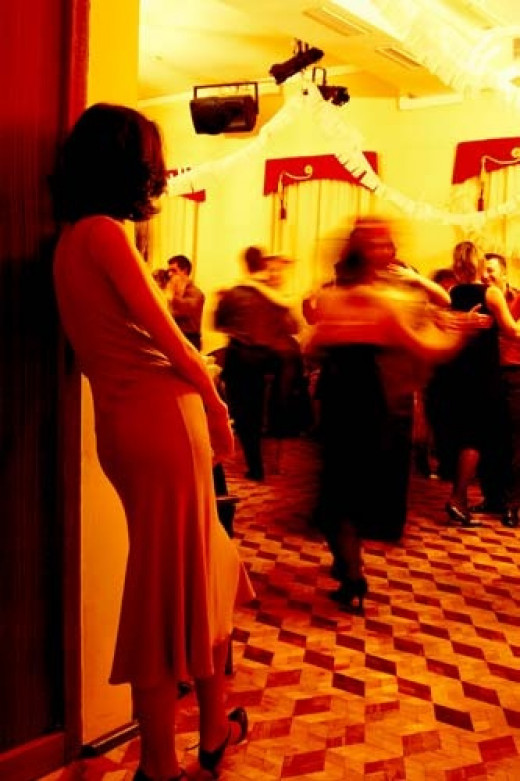 """Accept the fact that you're occasionally going to have an """"off-night"""" salsa dancing and that you shouldn't get yourself down or be upset about it"""