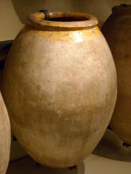 Ancient jar for olive oil