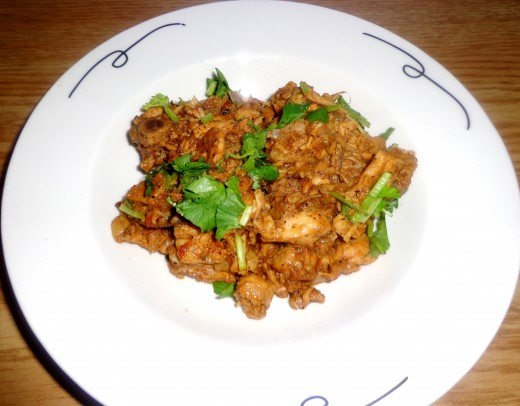 Tasty Chettinadu Pepper Chicken or Chettinadu Chicken Varuval