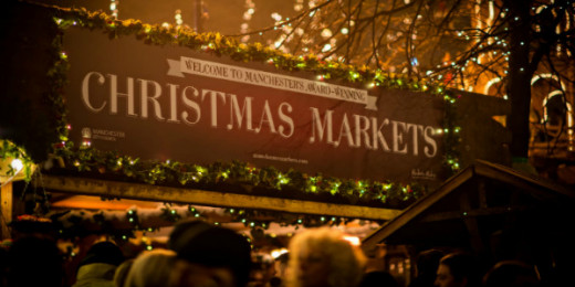 Welcome to Manchester Christmas Market