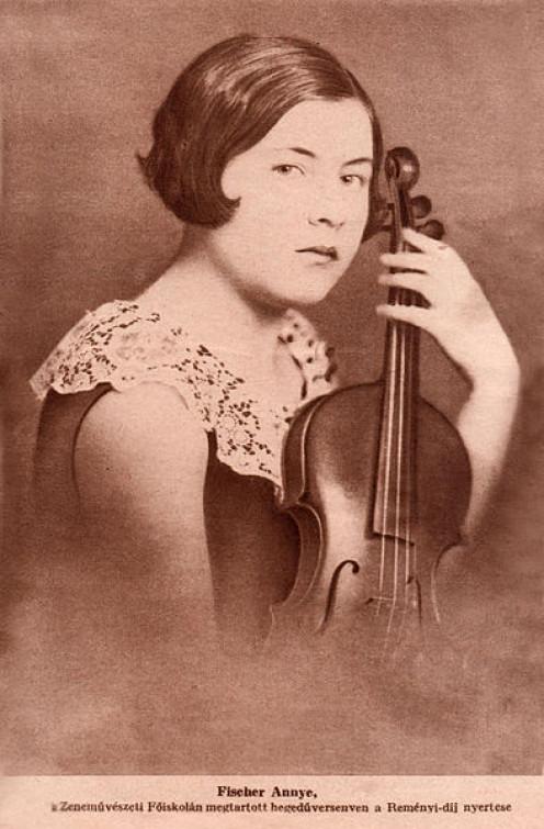 Annie Fischer When She Was Reményi Award Winner