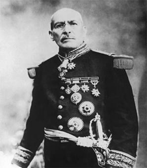 Victoriano Huerta (1850-1916), Mexican dictator (1913-1914).