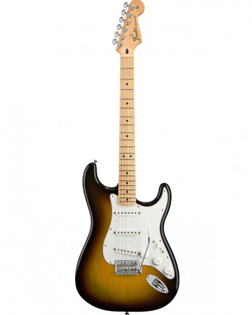 Is the Fender Stratocaster the best guitar for blues and rock?