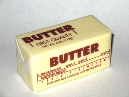 Real butter is best.