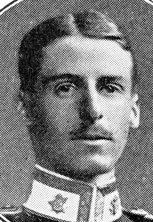 Lieutenant. G. R. P. Roupell, East Surrey Regiment., who earned the V.C. at Hill 60.