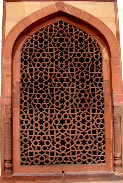 Jali work of Humayun's tomb, Delhi 3