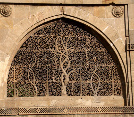 Jali work of Sidi Sayeed Mosque; Ahmedabad, Gujarat 2