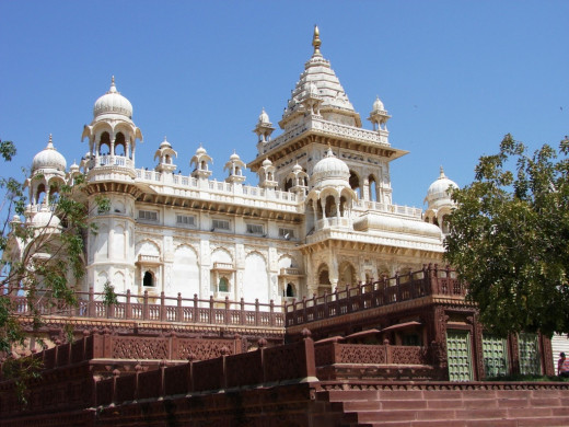 Jaswant Thada, Jodhpur, Rajsthan : A Palace with many Jali works