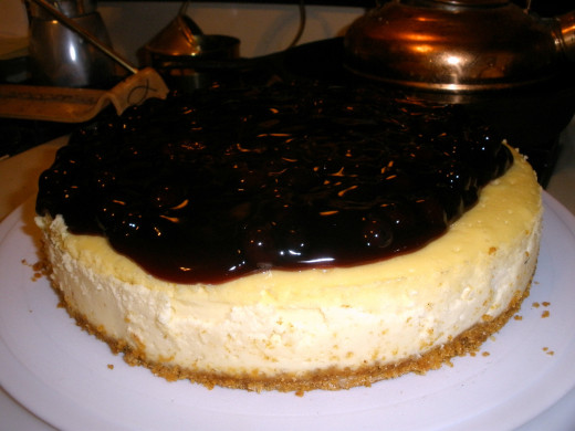 Blueberry cheesecake would be an easy variation of this recipe